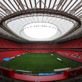 Extensión de la cubierta del estadio San Mamés Barria