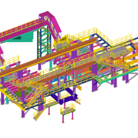 Plataforma Caster Deck para Tyasa